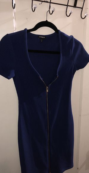 Express Navy Blue Zip Up Dress for Sale in San Jose, CA