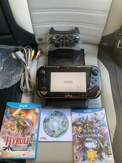 Nintendo Wii U Zelda Edition Bundle for Sale in Los Angeles,  CA