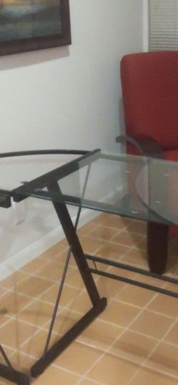 Glass Desk for Sale in Renton,  WA