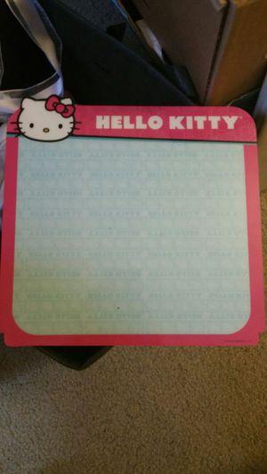 Hello kitty white board for Sale in Chula Vista, CA