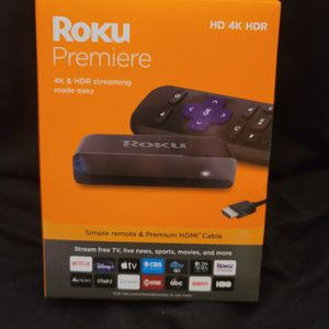 Roku Premier HD 4K HDR for Sale in Gaston, SC