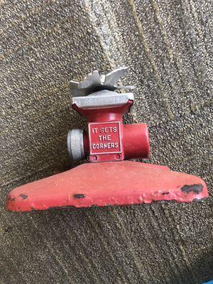 Vintage red metal square spray sprinkler for Sale in Houston, TX