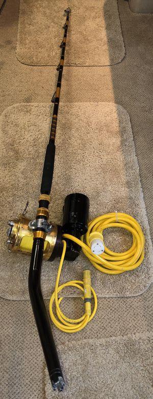 Lindgren-Pitman 24 Volt Electric Fishing Reel Penn International II 80TW Deep for Sale in Hollywood, FL