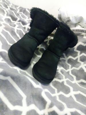Black Ugg Boots Sz 6 for Sale in Salt Lake City, UT