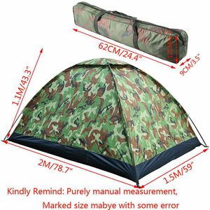 2 Person Camping Tent Backpacking Hiking Family Beach Camo for Sale in Gresham, OR