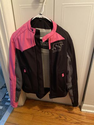 Women's motorcycle jacket for Sale in Chicago Ridge, IL