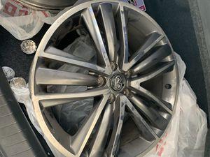 "2014 Infiniti Q50s 19"" stock wheels for Sale in Tacoma, WA"