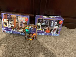 NIB: Disney-Ratatouille Play-sets and Like NEW DVD movie for Sale in Lake Hallie, WI