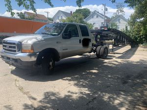 2001 Ford F-350 with trailer for Sale in Providence, RI