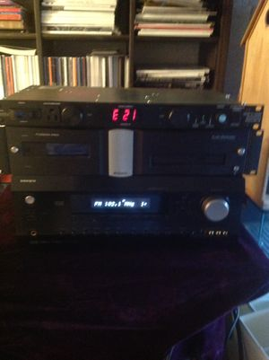 Home audio equipment power receiver/power meter/ all cords and audio come with it also comes with a surround sound system all for $200.00 for Sale in Collingdale, PA