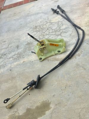 Tsx six speed shifter and cables for Sale in Costa Mesa, CA