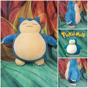 "Build-a-Bear SNORLAX Pokemon ""Fat Boy"" Stuffed BAB Plush 💥 Retired 💥 for Sale in Dale, TX"