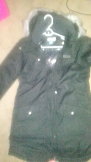 Heavy long large black Columbia jacket for Sale in Kent, WA