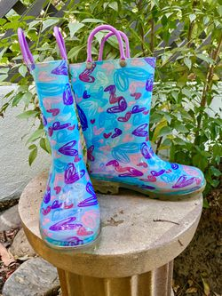 Rain Boots For Girls Size 11 for Sale in Redwood City,  CA