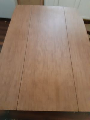 Wood kitchen table, foldable sides for Sale in Smyrna, TN
