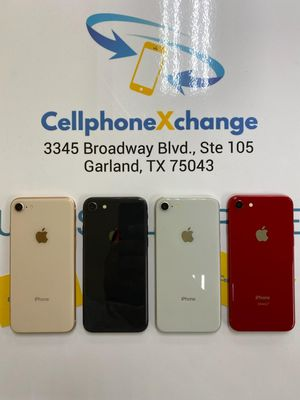 IPHONE 8 64GB GREAT CONDITION T-MOBILE AND METRO PCS OR AT&T AND CRICKET for Sale in Mesquite, TX