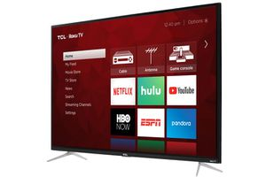 "MENU 4-SERIES TCL 43"" CLASS 4-SERIES 4K UHD HDR ROKU SMART TV - 43S423 for Sale in Ontario, CA"