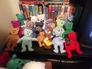 Rare tagless beanie babies for Sale in Peoria, IL