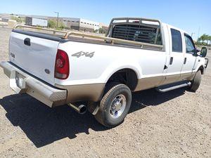 ONE OWNER! MODDED. 2001 FORD F350!!! CREW CAB! 4X4 TANK SIMILAR TO SIERRA SILVERADO RAM TUNDRA CUMMINS POWERSTROKE DURAMAX for Sale in Phoenix, AZ