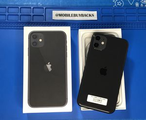 Apple iPhone 11 64GB AT&T, Cricket, T-Mobile, Verizon, Sprint for Sale in Fresno, CA