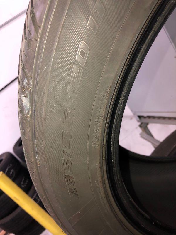 Tires 295 45 20