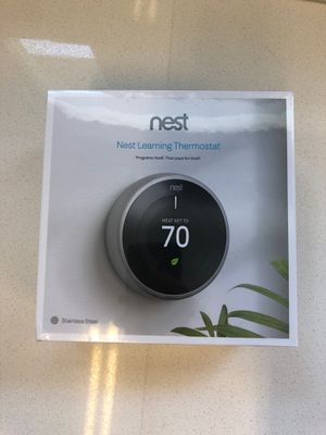 Nest Learning Thermostat - 3rd Generation for Sale in Gilbert, AZ