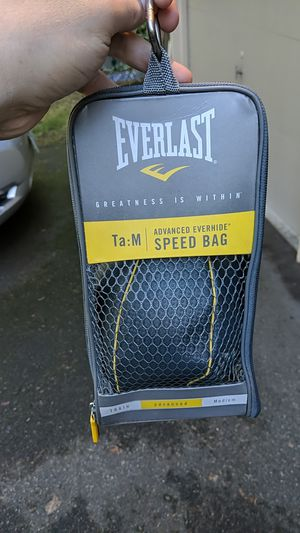 Everlast speed bag for Sale in Redmond, WA