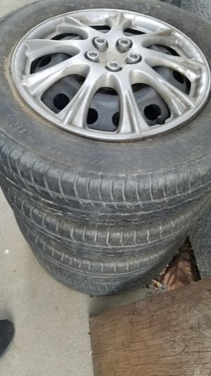 14 inch wheels and tires for Sale in Ontario, CA