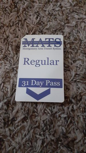 Bus pass for Sale in Montgomery, AL