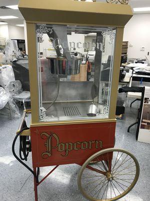 Gold Metal Antique Deluxe Popcorn Machine w/ 6oz Kettle & Gold Dome for Sale in Okeechobee, FL