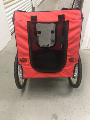 Pull trailer with Attachment for bike for Sale in Tampa, FL