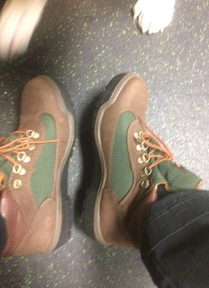 Beef and broccoli timberland field boots size 7 for Sale in Manassas, VA