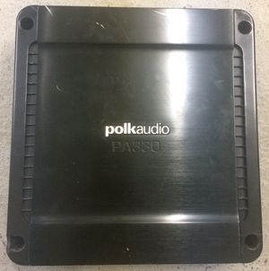 Polk 300 watt car amp for Sale in Glenshaw, PA
