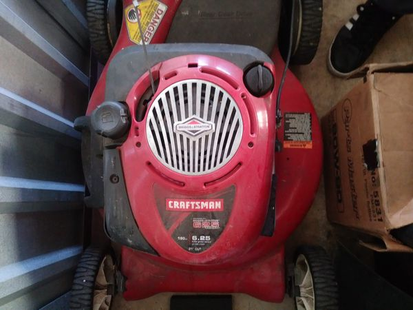 """Craftsman lawn mower and weed eater"" !!"