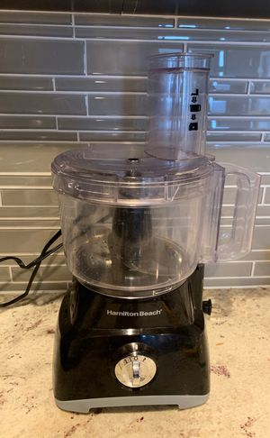 Hamilton Beach 8-cup Food Processor Black for Sale in Bethesda, MD