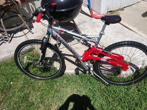 Schwinn mountain bike dual suspension disc brake front good condition or best offer for Sale in Santa Ana, CA