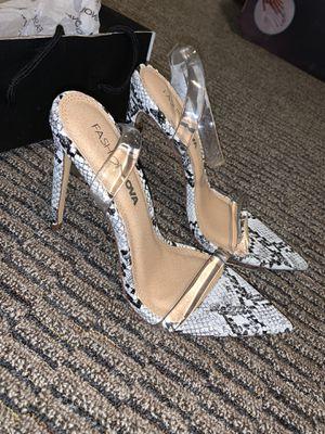 Snake skin Heels- Fashionnova - 7 for Sale in Auburn, WA