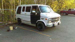 1994 Chevy g20 conversion camper van for Sale in Lynnwood, WA