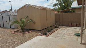 New 10x12 with single door $1775 installation included for Sale in Las Vegas, NV
