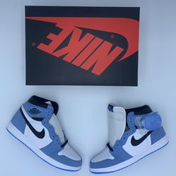 "Air Jordan 1 Retro High ""White University / Blue Black"" (Size 10) for Sale in Orange,  CA"