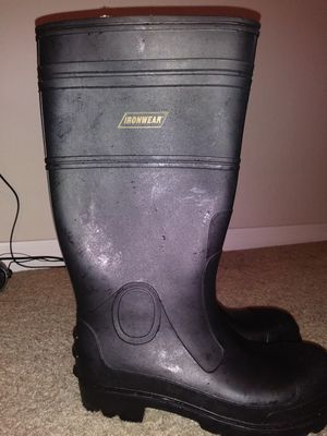 Boots Ironwear and belt for Sale in Orlando, FL