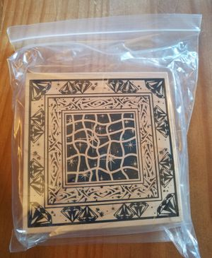 Decorative rubber stamp for Sale in Chicago, IL