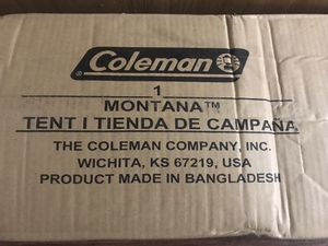 Coleman Montana 8 person camping tent brand new $135 for Sale in Madison Heights, MI