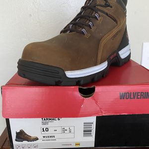 Wolverine Steel Toe Work Boots Size 10 for Sale in Hialeah, FL