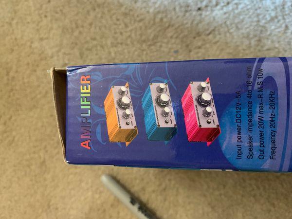 Hi fi stereo amplifier