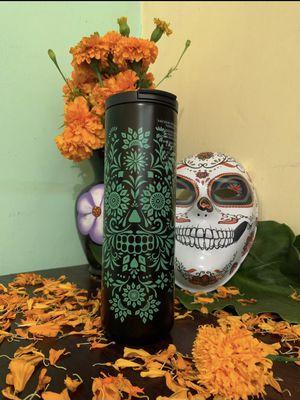 Mexico Starbucks Tumbler Halloween 2020 Dia De Muertos Vacuum Insulated Stainless for Sale in El Monte, CA