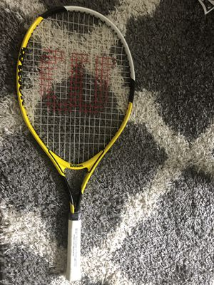 Wilson USOpen Junior Tennis Racket,3 7/8 for Sale in Glendale, CA