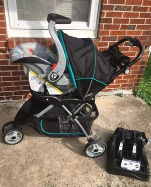 Baby stroller and car seat combination for Sale in Nicholasville, KY