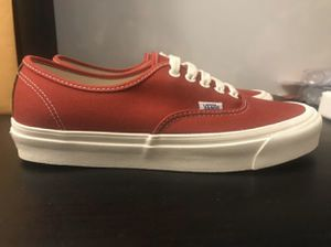 Vans OG Authentic LX 'Chili Pepper Red' Men's Size 9.5, SHOOT ME AN OFFER! for Sale in Chula Vista, CA