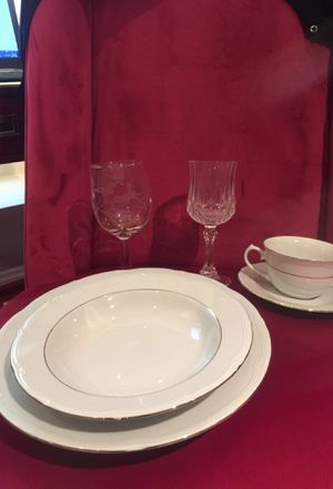 Formal China 4-piece place setting (set of 6) for Sale in Washington, DC